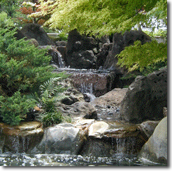 Three-stage waterfall
