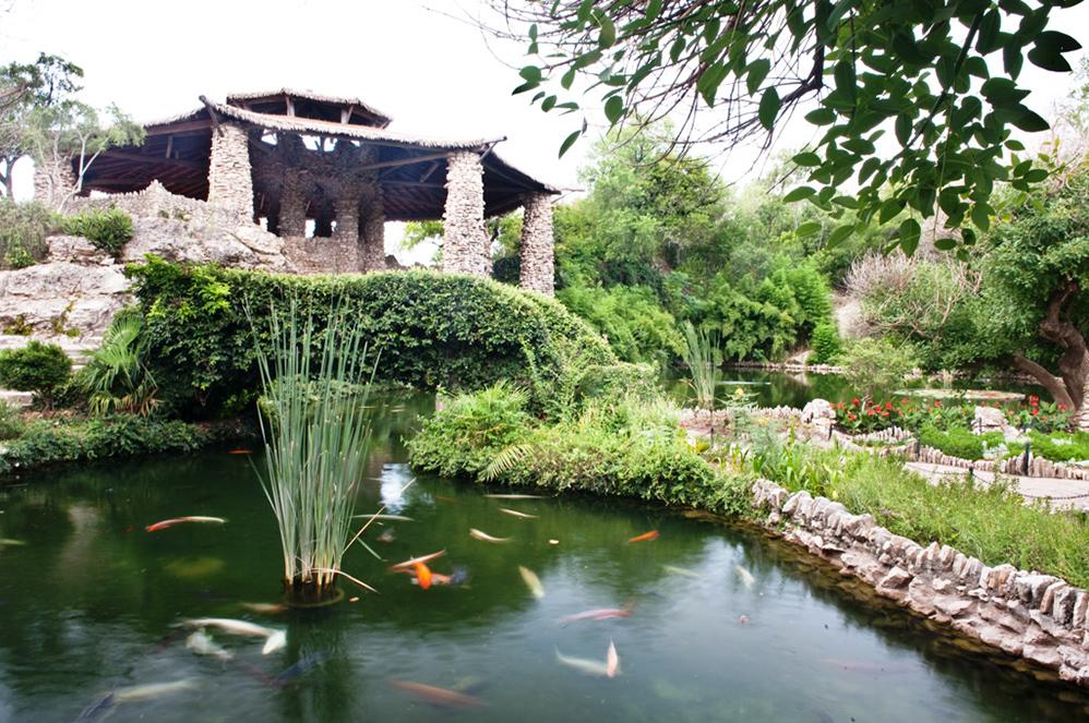 Japanese Tea Garden at Sunken Gardens