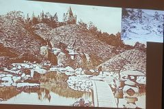 Scott Cardinal's lecture on George Harrison's garden shows how Friars Park was built using Josiah Conder's book