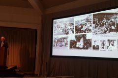 Jeff Burton details garden excavation at Manzanar Internment Camp