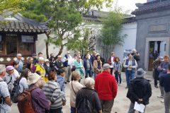 About to enter Lan Su Chinese Garden