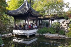 At Lan Su Chinese Garden
