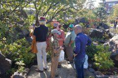 Daryl Toby talks with Greg Afman at Boulder Falls