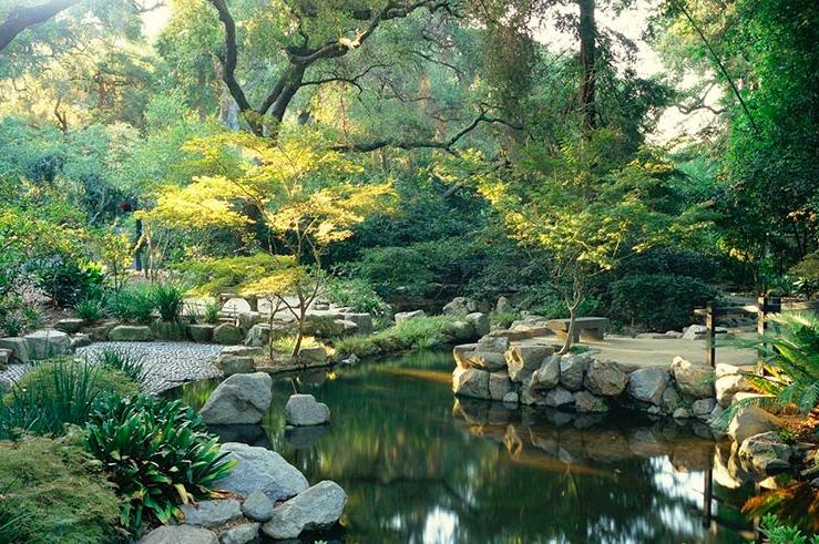 North American Japanese Garden Association Descanso Gardens Host