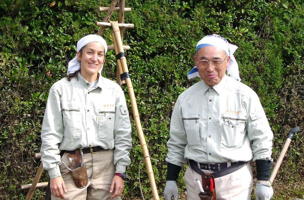 Interview with Leslie Buck on Apprenticeship in the Gardens of Kyoto