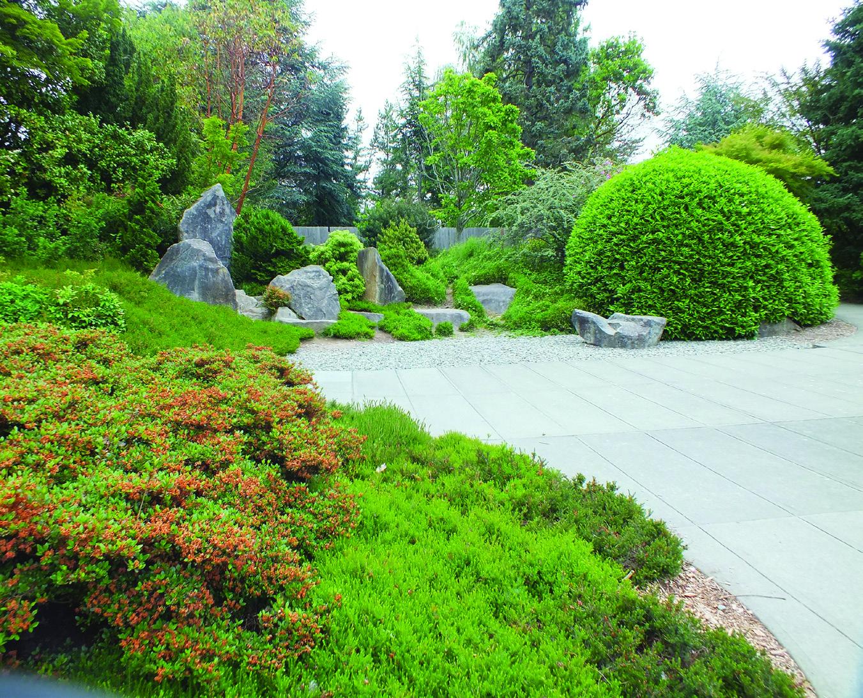 Weekly Volunteer Effort Helps Maintain Kubota Garden
